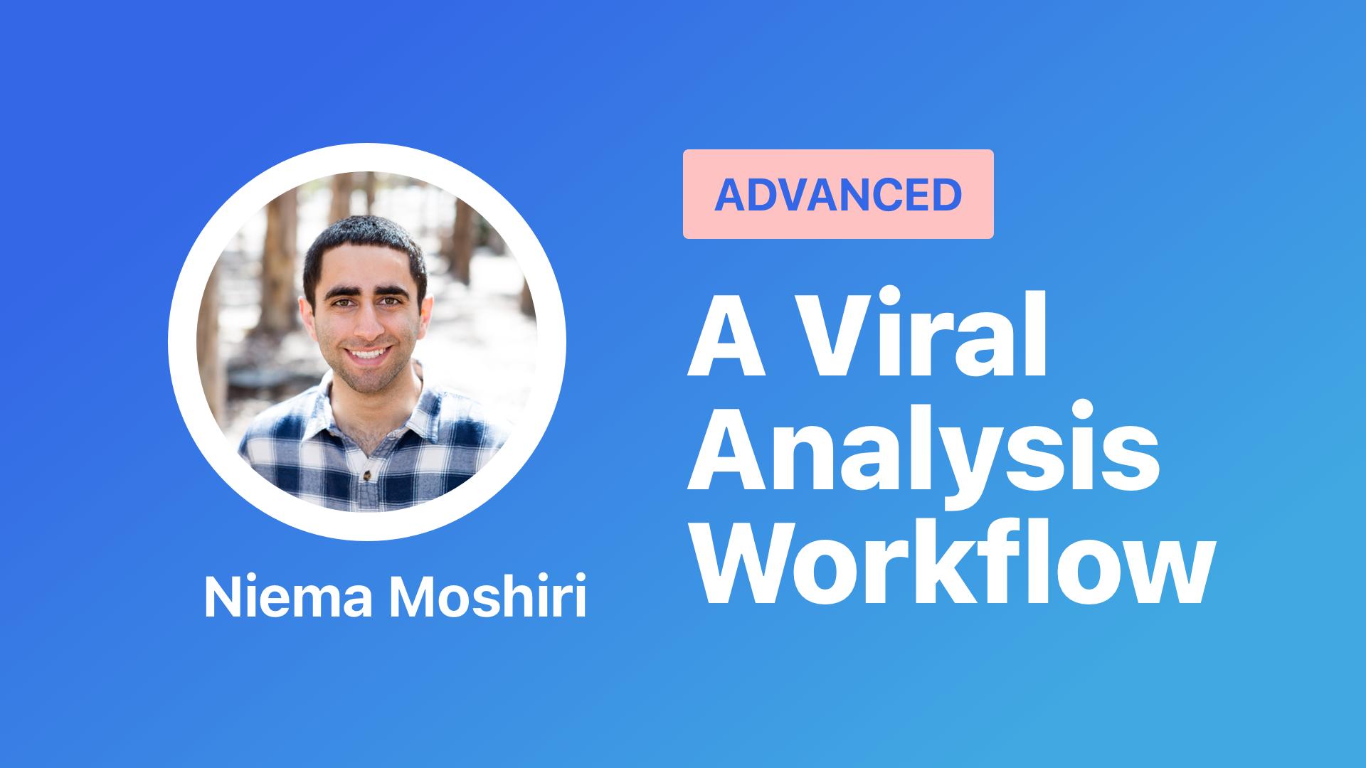 a viral analysis workflow