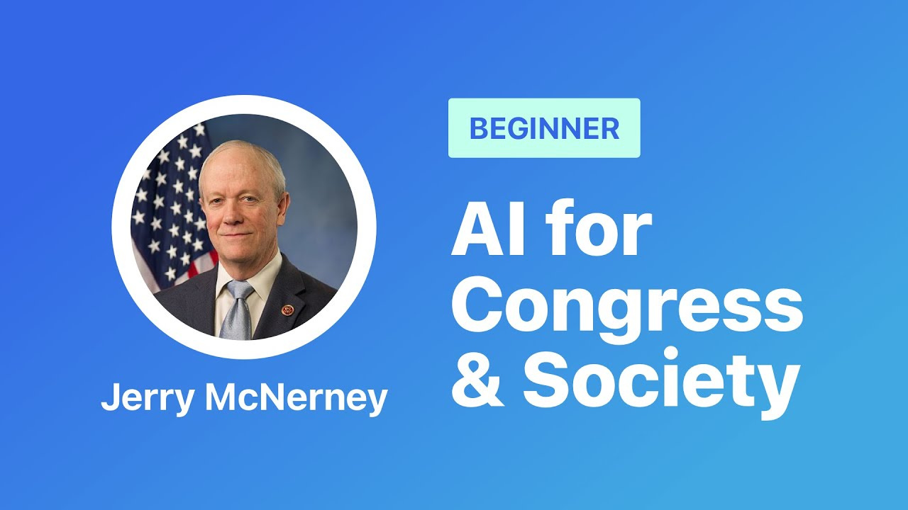 Artificial Intelligence for Congress and Society